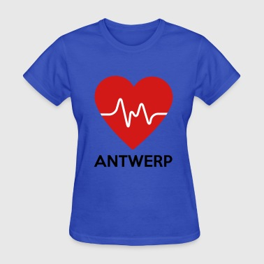 Antwerp Heart Antwerp - Women's T-Shirt