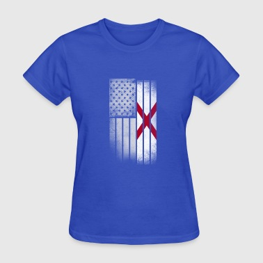 Alabama State Flag USA Vintage Alabama State Flag - Women's T-Shirt