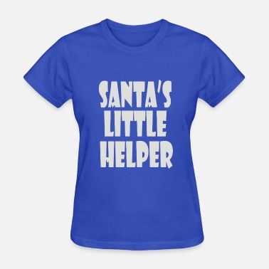 Santas Little Helper Santa s Little Helper - Women's T-Shirt