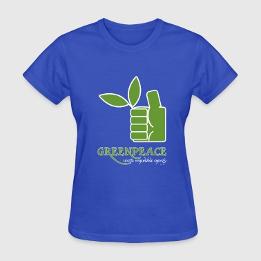 Greenpeace 100 renewable energy - Women's T-Shirt