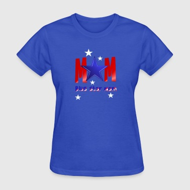 A Blue Star Mom-lettered - Women's T-Shirt