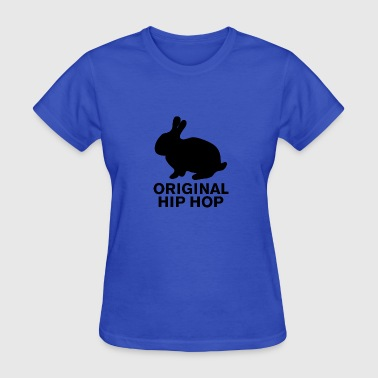 Hip Hop Bunny - Women's T-Shirt