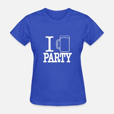 I Love Party i love party 2 - Women's T-Shirt
