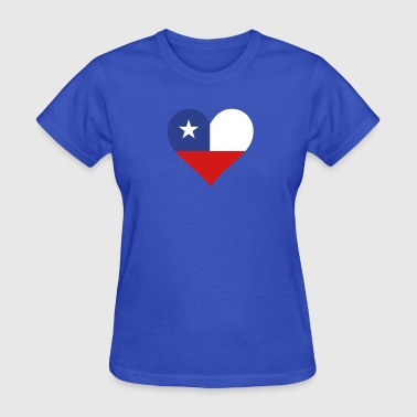 Pisco A Heart For Chile - Women's T-Shirt