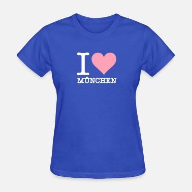 Free State Of Bavaria I Love Munich - Women's T-Shirt