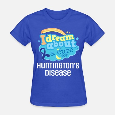 Huntingtons Disease Huntingtons Disease Awareness Ribbon - Women's T-Shirt