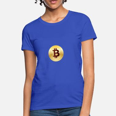 Bitcoin Logo Symbol Cryptocurrency Crypto Coin - Women's T-Shirt