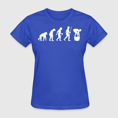 Swimmer Swimmer Evolution Humor - Women's T-Shirt
