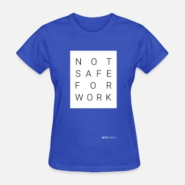 Adult Porn NSFW, Not Safe For Work, adult content, porn - Women's T-Shirt