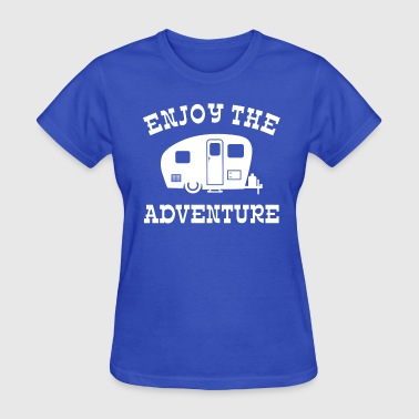 Enjoy The Adventure RV - Women's T-Shirt