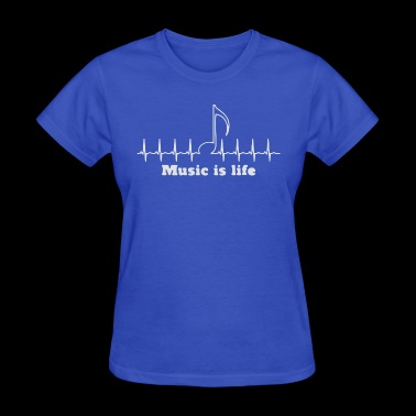 Music is my life - Women's T-Shirt