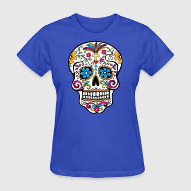 Colorful Sugar skull Special - Limited Edition - Women's T-Shirt