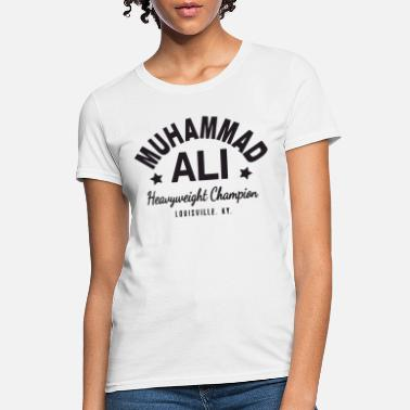 Ali Muhammad Ali Cassius Clay T Shirt Boxing Gym Worko - Women's T-Shirt