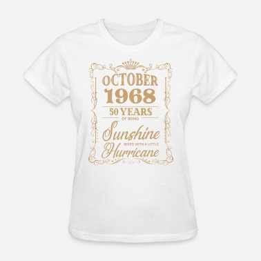 1968 october 1968 hipster t shirts - Women's T-Shirt
