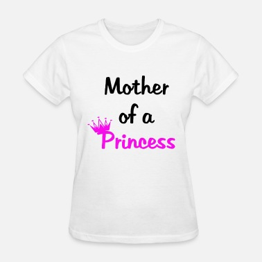 Mother Daughter Matching Mother Of A Princess Daughter Of A Queen Mummy Dau - Women's T-Shirt
