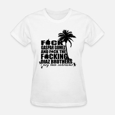Drug Lord Scarface Pablo Escobar Drug Lord dealer Miami Vice - Women's T-Shirt