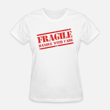 Mma Gym Bodybuilding Motivation FRAGILE MENS MMA GYM BODYBUILDING MOTIVATION TRAIN - Women's T-Shirt