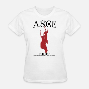 Anime One Piece Vintage ASCE One Piece Pirate Double Side Big Logo - Women's T-Shirt