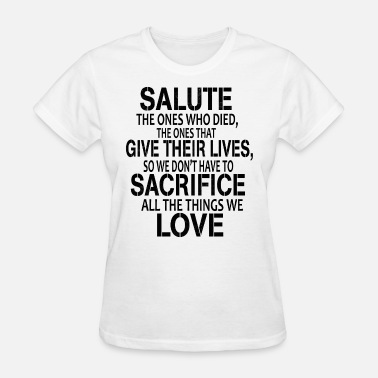 Air Force Deployment Men s Veteran Salute Tee Army Navy Air Force - Women's T-Shirt