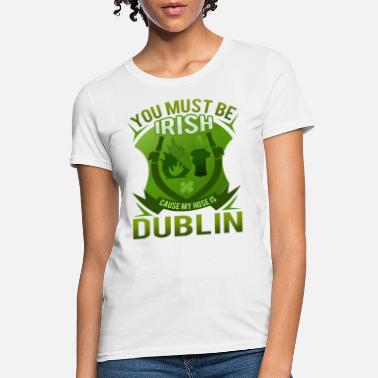 St Patricks Day Party Shirt Shamrock Beer Gift - Women's T-Shirt