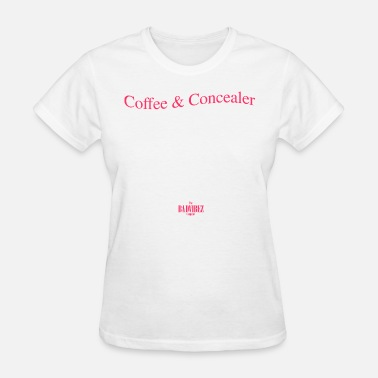 Mac Cosmetics Coffee and Concealer - Women's T-Shirt