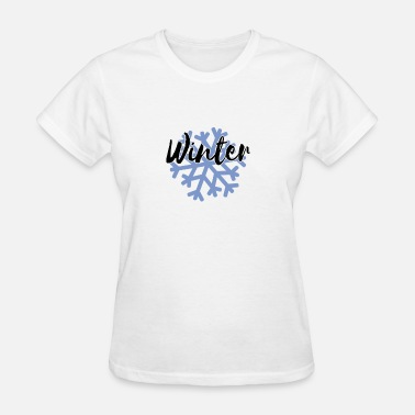 Snowflake Winter Sports Winter Snowflake - Women's T-Shirt