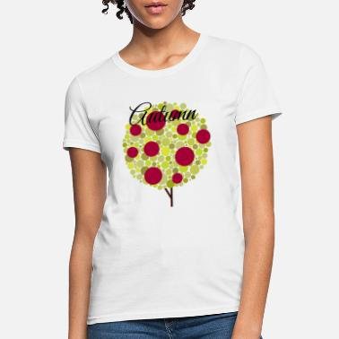 Deciduous Tree Autumn colorful tree - Women's T-Shirt