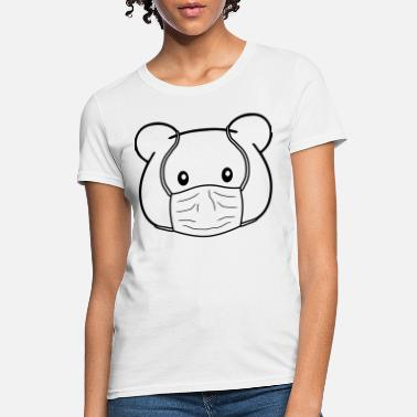 Protective mask teddy - Women's T-Shirt