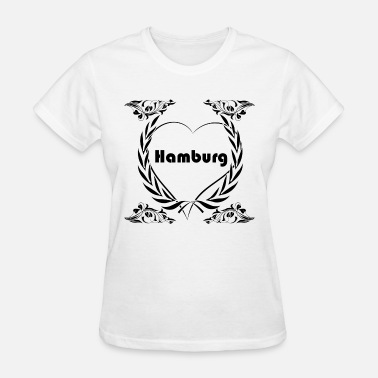 I Love Hamburg I Love Hamburg - Women's T-Shirt