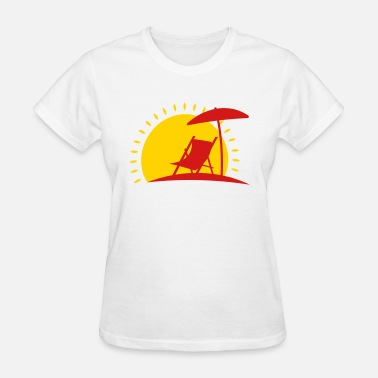 Sun Bathing sun bathing - Women's T-Shirt