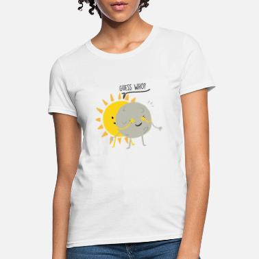 Time Chasers Total Lunar Eclipse 2019 Blood Moon USA Gift - Women's T-Shirt