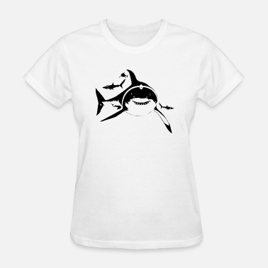 Sharks With Lasers Sharks With Frickin Laser Beams - Women's T-Shirt