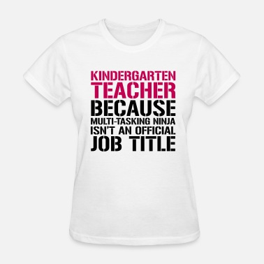 Teacher Ninja Ninja Teacher - Teachers T-Shirts - Women's T-Shirt