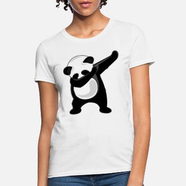 518855b26 Panda Bear Dab Dabbing Panda Giant Panda Bear Dab Dance Tee dance -  Women'. Women's T-Shirt