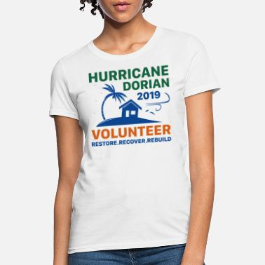 Dorian Hurricane Dorian Volunteer - Women's T-Shirt