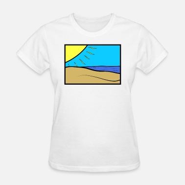 Beached Beach - Women's T-Shirt