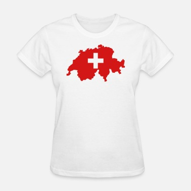 Flag Swiss Swiss Flag - Women's T-Shirt