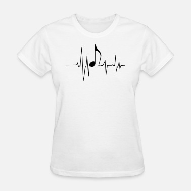 Frequency Beat Music Beat Frequence - Women's T-Shirt