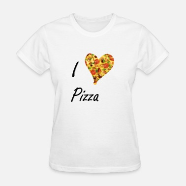 Diavolo I love Pizza Salami Cheese Gift Fast Food Deliciou - Women's T-Shirt