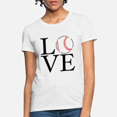 Love Love Baseball - Women's T-Shirt