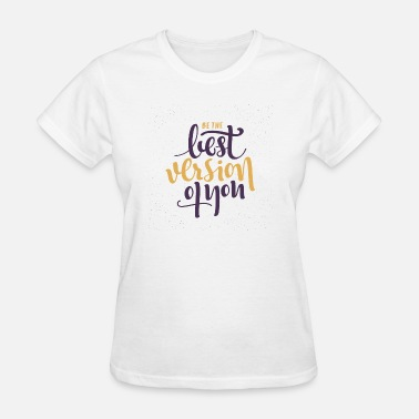 Finishing Touch female t-shirt with quote - Women's T-Shirt