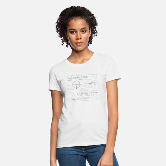Science T-Shirts - mathematical function - Women's T-Shirt white