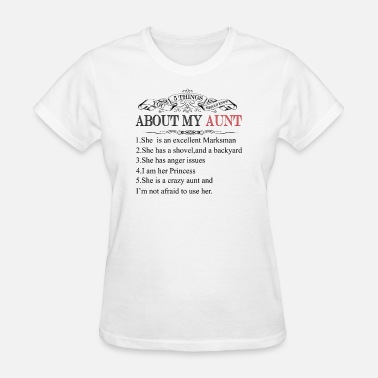 4159a875 5 Things You Should Know About My Aunt Women's Premium Longsleeve ...