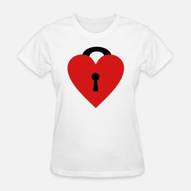 Locked Heart locked heart - Women's T-Shirt