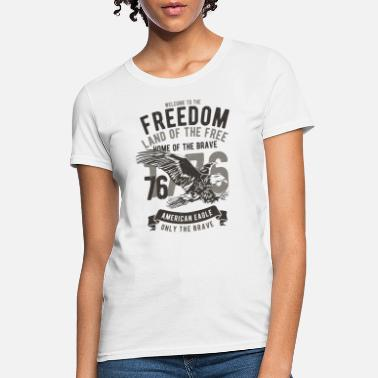 Usa Freedom USA Freedom American Eagle - Women's T-Shirt