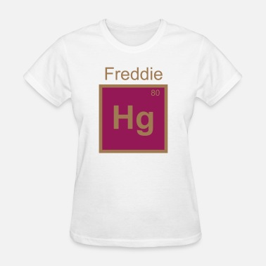 Mercury Freddie Hg Mercury Element Pun T Shirt - Women's T-Shirt