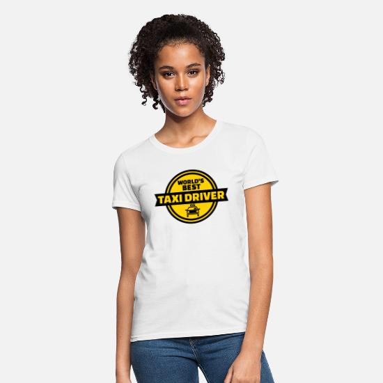 Best T-Shirts - Taxi driver - Women's T-Shirt white