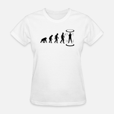 Teleporter Evolution of Teleportation - Women's T-Shirt