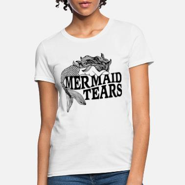 7cc8cf42c Mermaid tears cry dark cloth sleeve raglan science - Women's ...