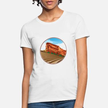 classic red rocks - Women's T-Shirt